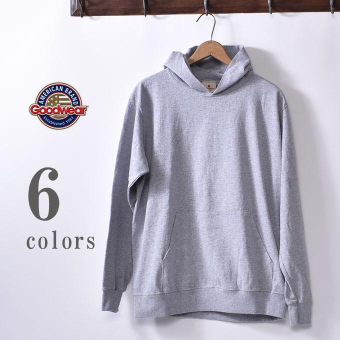 2019年モデル【GOOD WEAR】グッドウェアL/S Pullover Hood T-shirts長袖 プルオーバーフードTシャツ日本正規代理店 ソーズカンパニー全6色z10x