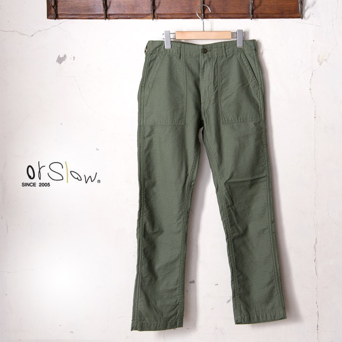 arriving catch new specials 10% more on coupons ★ Onslow MEN's US SLIM FIT ARMY FATIGUE PANTS mens US  slimsfitarmyfatihgpants 4 poke army bread GREEN (16) [-z5x [10P12Sep14]