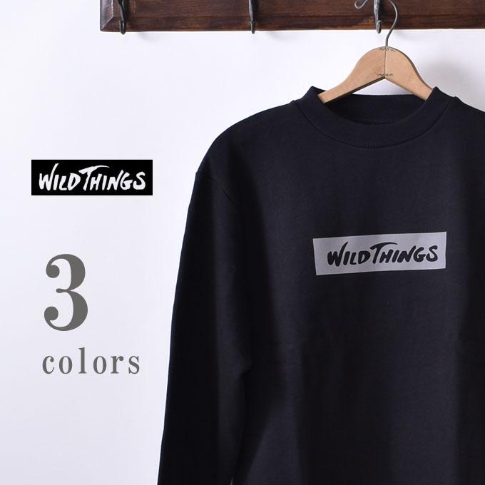 【WILDTHINGS】ワイルドシングスREF CREW(WT19143N)レフクルー クルーネック スウェット トレーナ―全3色z10x