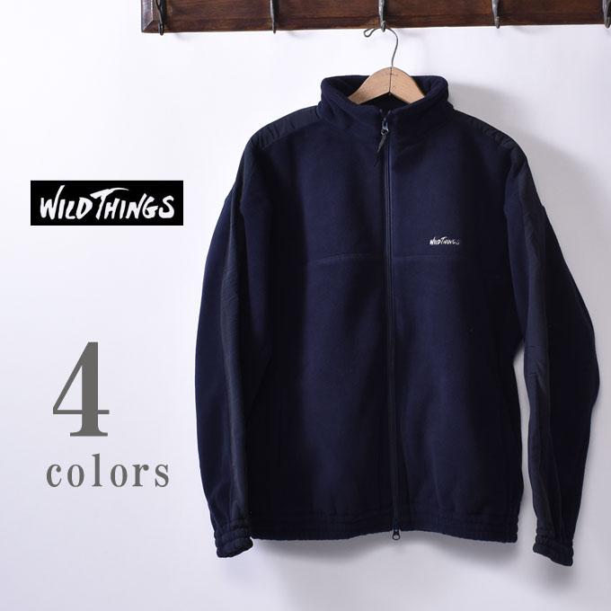 【WILDTHINGS】ワイルドシングスPOLARTEC TRAINING JACKET(WT19111N)ポーラーテック トレーニングジャケット全4色(MOCA・LEAF・NAVY・BLACK)z10x