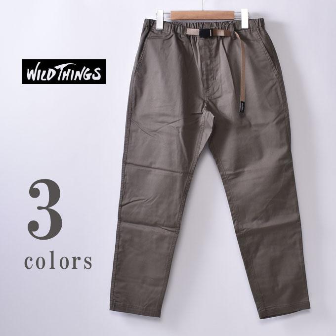 【WILDTHINGS】ワイルドシングスTHINGS PANTS(WT19029AD)シングスパンツ全3色z10x