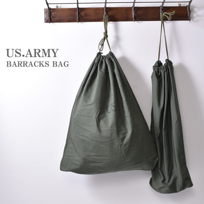 Dead Stock United States Army Military Barracks Bag Laundry Cotton 100 Satin