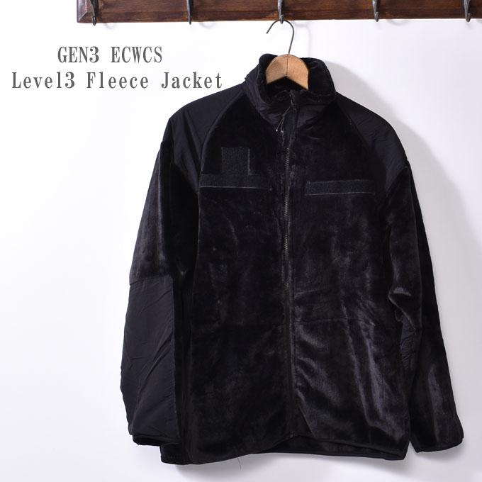 新品未使用 放出品US Military GEN3 ECWCS Level3 Fleece Jacketレベル3 アメリカ軍 フリースジャケット ミリタリーブラック