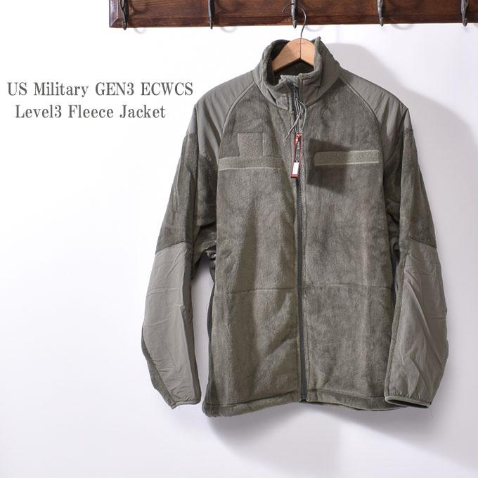 デッドストックUS Military GEN3 ECWCS Level3 Fleece Jacketアメリカ軍 レベル3 フリースジャケット ミリタリーフォリアージ
