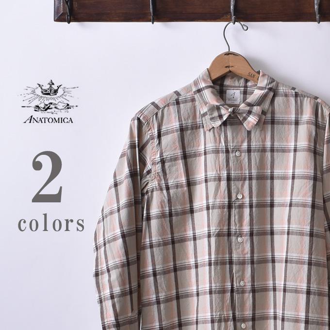 ★30%OFF SALE!【ANATOMICA】アナトミカWEEKEND SHIRTウィークエンドシャツ全2色