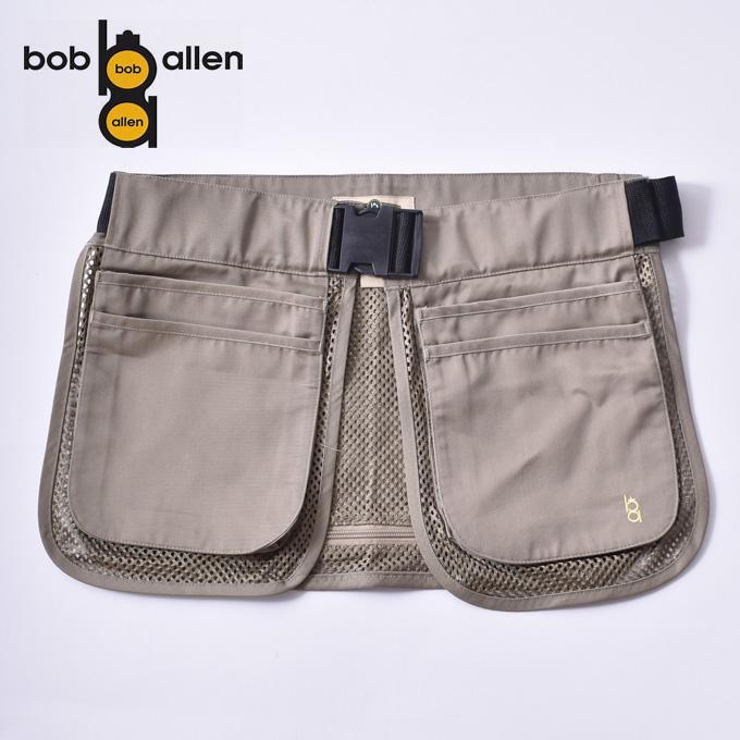 【BOB ALLEN】ボブアレンHALF MESH SHOOTING APRONハーフメッシュシューティングエプロンKHAKI カーキ