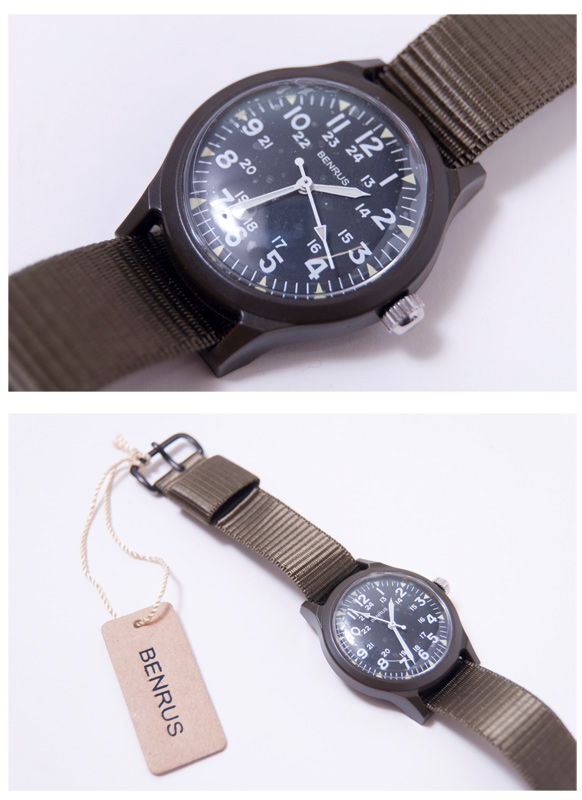 Bellas BR763 Military Watch ( military watches ) watch olive