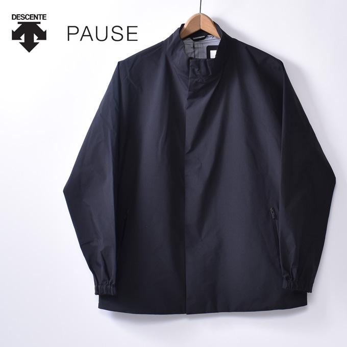 【DESCENTE PAUSE】デサント ポーズGORE-TEX BLOUSON(DLMOJC33)ゴアテックスブルゾンBLK ブラック