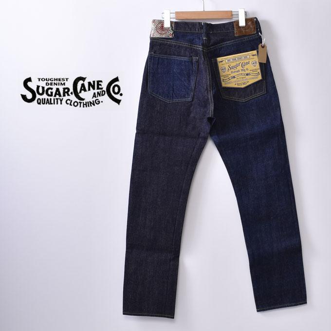 【SUGAR CANE】シュガーケーン砂糖黍 琉球藍混 × HAWAII藍混 14oz.DENIM SLIM MODEL(SC41701A)ジーンズ デニム