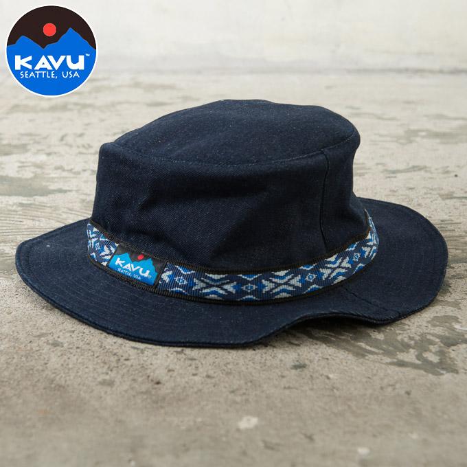 0a0c5dd73 Kavu STRAP BUCKET HAT (strap by bucket Hat) denim