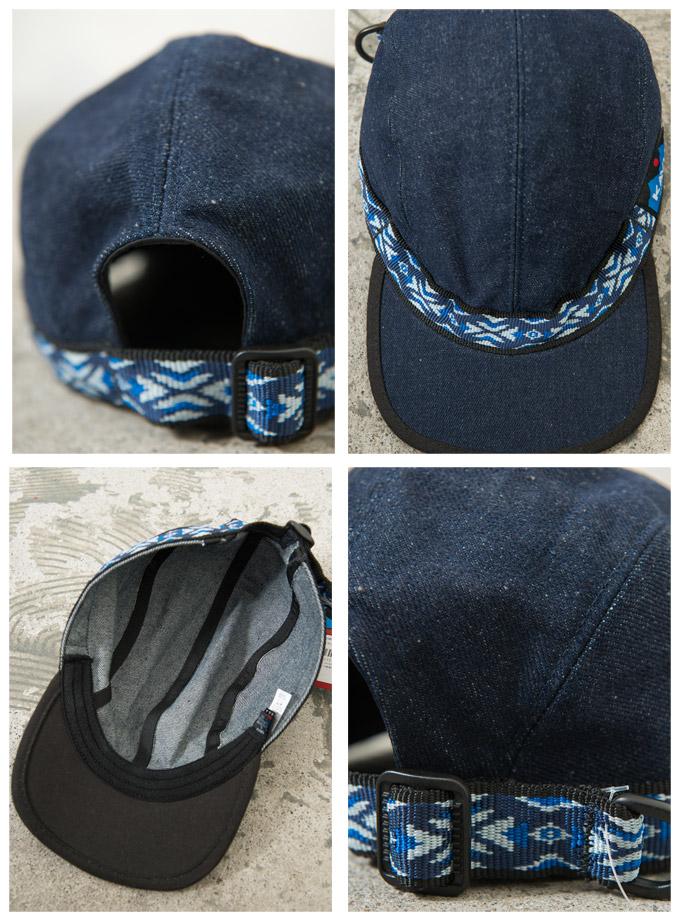 주식-STRAP CAP(스트랩 캡) 데님