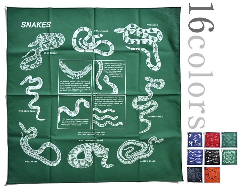 完全送料無料 MADE 人気商品 IN USA PRINTED IMAGE バンダナ プリンテッドイメージBANDANA ゆうパケット対応 全16色