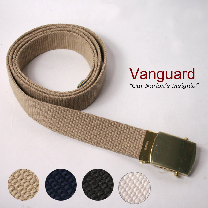 70% off ★ ♪ SALE bargain! All three GA Chabert MILITARY BUCKLE COTTON WEB  BELT military buckles cotton Web belt, MADE IN USA Vanguard