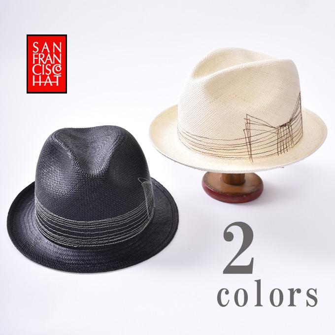 【SAN FRANCISCO HAT】サンフランシスコハットBRISA BOWRAY HAT ブリサボウレイハットパナマハット パナマ帽全2色《S-30》