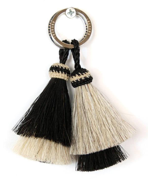cott  I Horse Hair Tassel key Ring ホースヘアーキー ring key ring ... acdeb934e