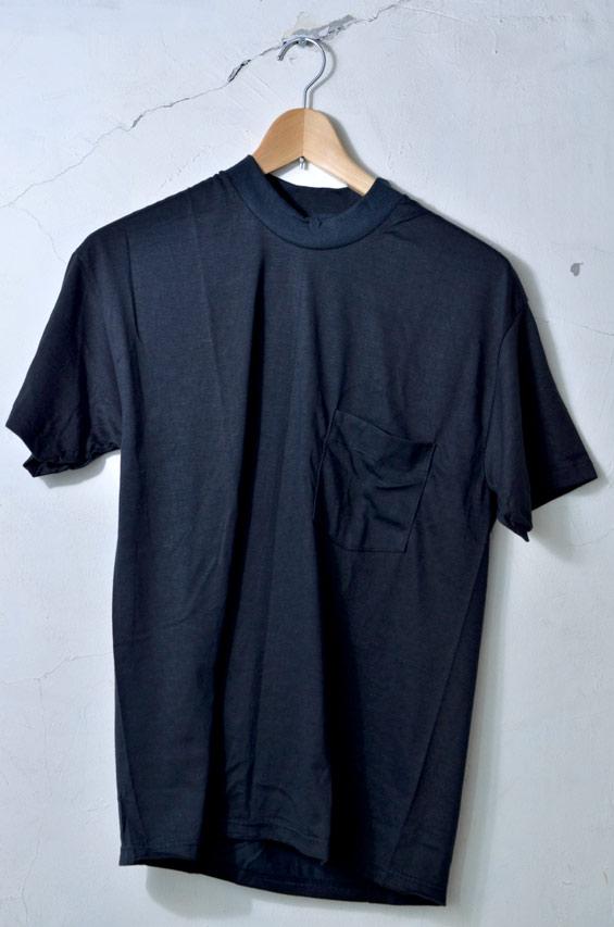 滞销商品80年代THE BROCKUM COLLECTION POCKET T SHIRT zaburokkamukorekushompoketto T恤黑色[yuu分组对应]