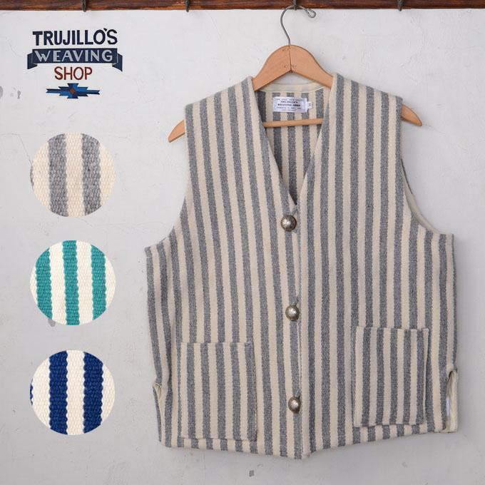 ★50%OFF SALE!【TRUJILLO'S】トルフィリオスストライプ ラグベスト全3色