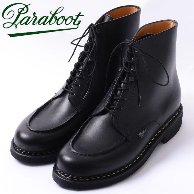 ☆【Paraboot】パラブーツBEAULIEU(ボーリュー)レースアップブーツNOIRE-LIS NOIR(ブラック)701503z10x