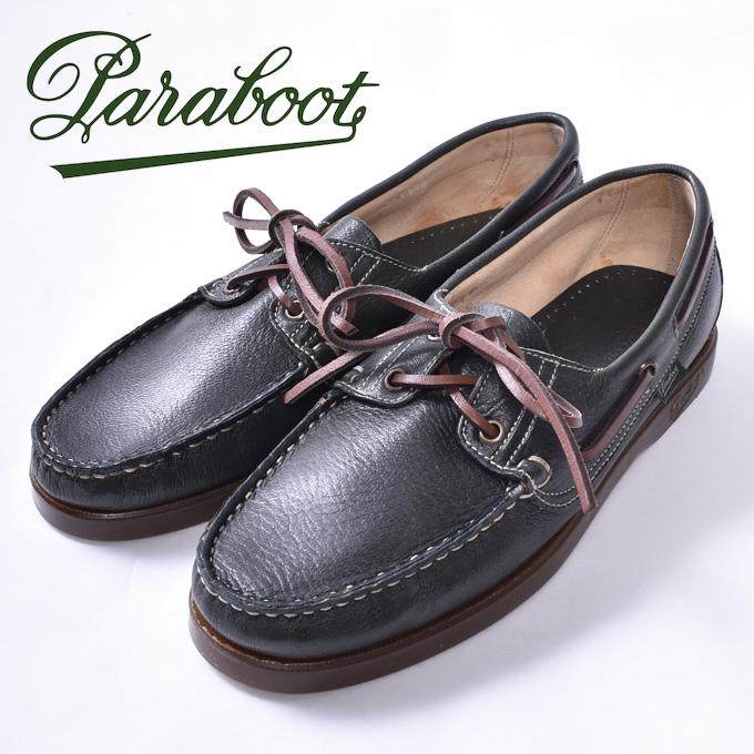 【Paraboot】パラブーツBARTH/MARINE(バース)デッキシューズ モカシンMIEL-CERF FORET(グリーン)z10x