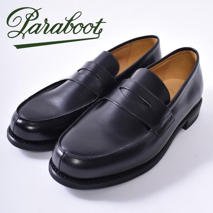 【Paraboot】パラブーツADONIS/GALAXY FINE アドニスNOIRE-LIS NOIR ブラック/ブラックz10x