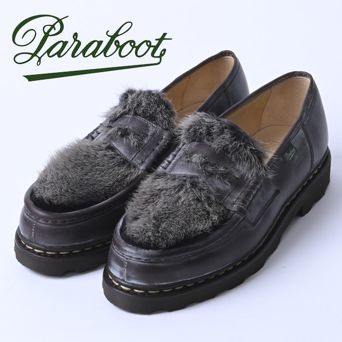 ☆【Paraboot】パラブーツREIMS・ランスMARRON-LIS CAFE/VISON(カフェ ミンク)102984z10x