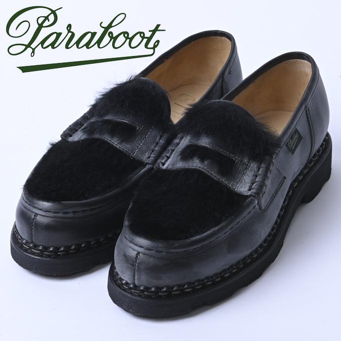 ☆【Paraboot】パラブーツORSAY/GRIFF(オルセー)NOIRE-LIS NOIR/LAPIN NOIR(ブラック ラパン)150173z10x