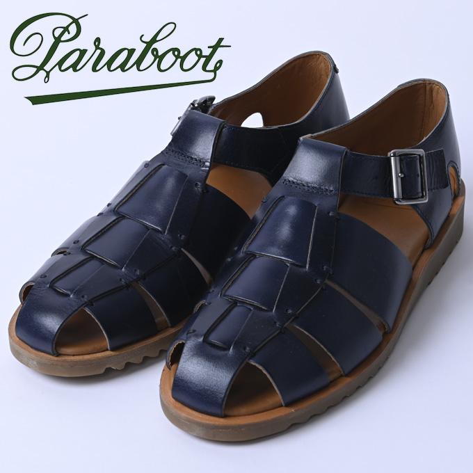 ☆【Paraboot】パラブーツPACIFIC/SPORT (パシフィック)MIEL-VEGETAL NAVY(ネイビー)123319z10x