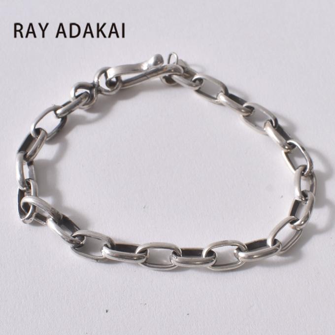 ナバホ族【RAY ADAKAI】レイアダカイHandmade chain Bracelet Mediumハンドメイドチェーン ブレスレット ミディアム