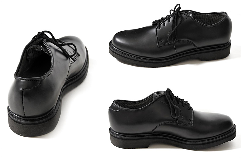 ROTHCO (로스 코) SOFT SOLE LEATHER UNIFORM OXFORDS 일반 투 가죽 신발