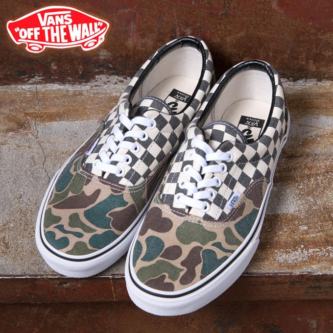 3c98960abf025 10% more on coupons ☆ Vans sneakers CALIFORNIA ERA California Ella CAMO/WHITE  CHECKER ...