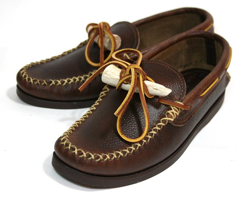 yuketen ANTLER MOC antoramokku(mokashin,甲板鞋)棕色