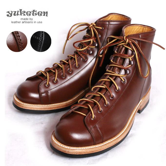 【YUKETEN】ユケテンPolish Work Boots ポリッシュワークブーツ全2色《S-50》