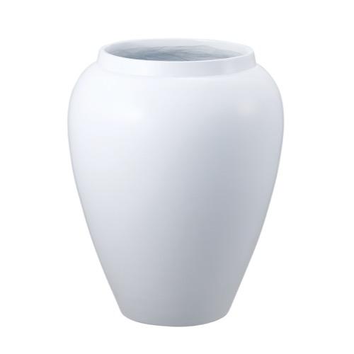 バッソベースL MOI-649 ホワイト(1コ入り)【花器】【花瓶】【コンポート】【花資材】【花材】【フラワーベース】【ポット】【お正月】【迎春】【松村工芸】