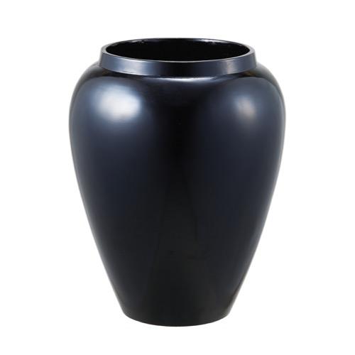 バッソベースL MOI-649 ブラック(1コ入り)【花器】【花瓶】【コンポート】【花資材】【花材】【フラワーベース】【ポット】【お正月】【迎春】【松村工芸】