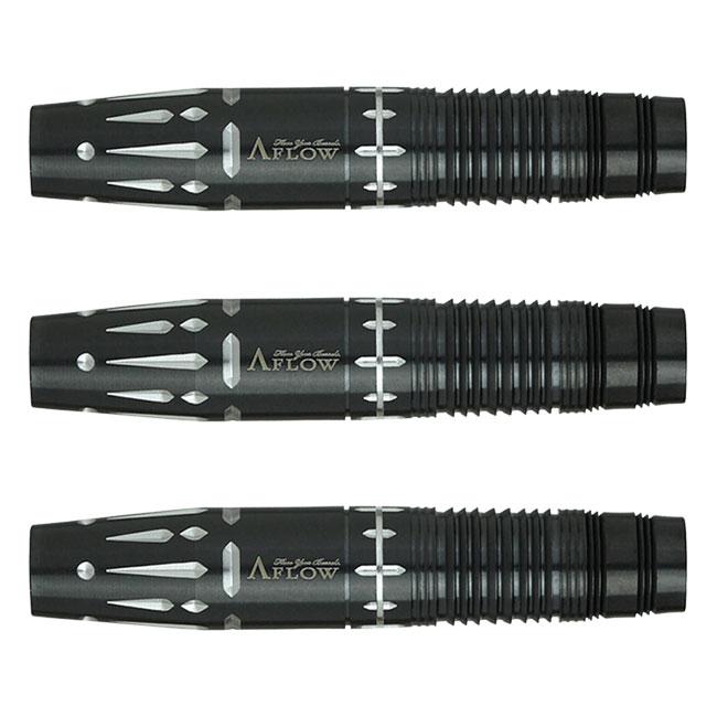 DYNASTY(ダイナスティー) A-FLOW BLACK LINE コーティングタイプ RIELL2 plus(リエル2 プラス) 2BA 清水舞友選手モデル (ダーツ バレル ダーツセット)