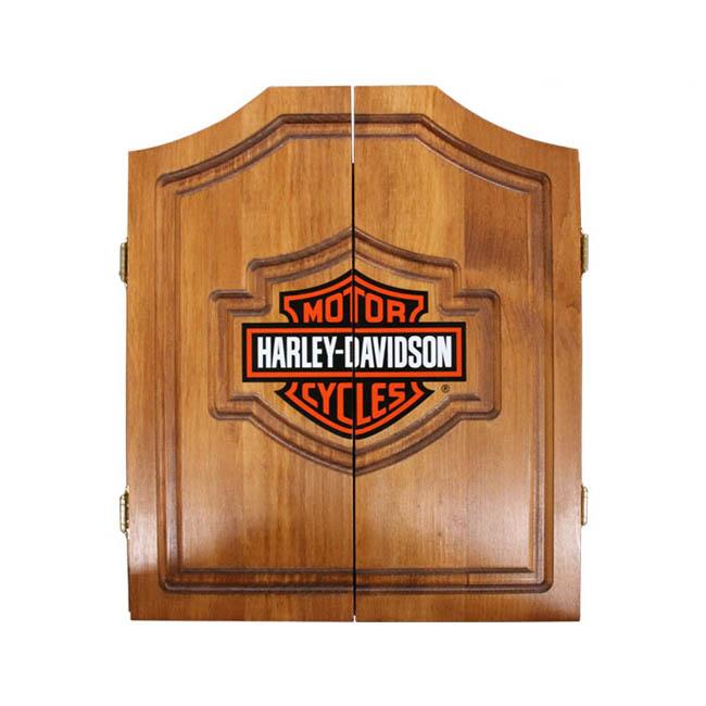 Harley Davidson Bar And Shield >> Harley Davidson Bar And Shield Cabinet Only 61905 Dart Board Cabinets