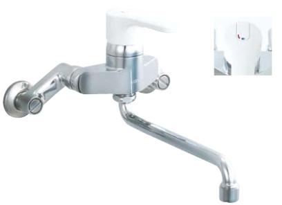 キッチン用 水栓 蛇口 シングルレバー混合水栓 壁付け シャワー吐水無 ノルマーレ 寒冷地 sfhe435sn