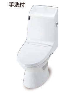 INAX トイレ 一体型 タンクあり 床上排水 排水155 eco6 アメージュ AM3タイプ 手洗い有 寒冷地(水抜・ヒーター) dtm183pmnghbc360pu リクシル イナックス 沖縄送料に自信あり!