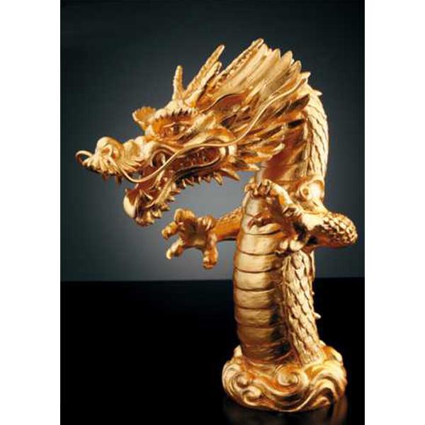 KAKUDAI(カクダイ) 吐水口(龍)純金箔貼り 700-754