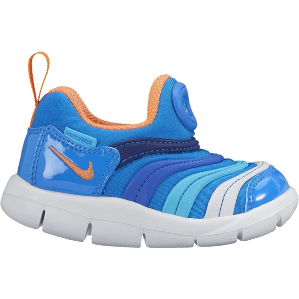 d95edd24f94e Kids shoes Nike 343938 Dynamo free TD color  412 (photo blue total Orange deep  Royal Blue hyper cobalt gamma blue white)