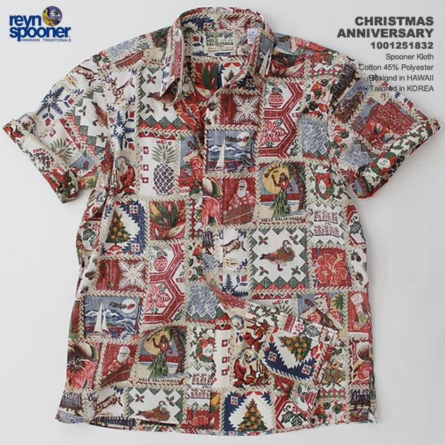 8c319a53 Aloha shirts | rainspuner (REYN SPOONER) | 0125-1832 ANNIVERSARY CHRISTMAS  (Christmas ...