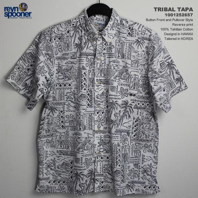 219a95dc4 Aloha shirts-rain Spooner ( REYNSPOONER )-0125-2657 TRIBAL TAPA (tribal ...