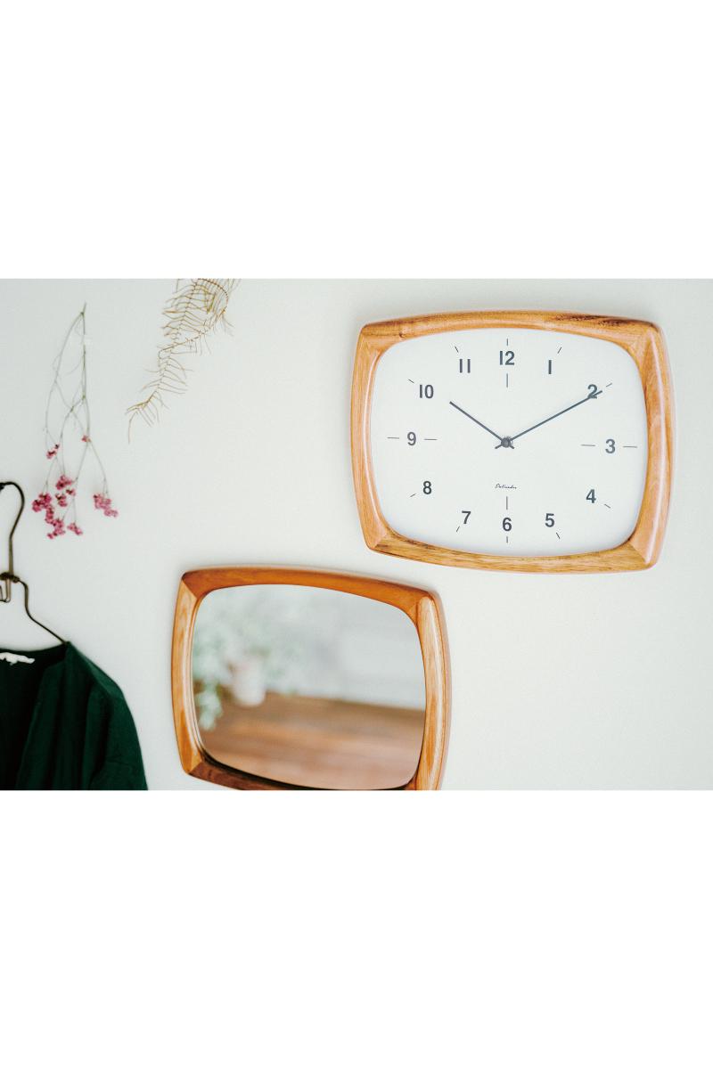 【お買い物マラソン!ポイントアップ10倍!2019/11/19 20:00~2019/11/26 01:59】WALL CLOCK Niffer ニフェル 電波時計