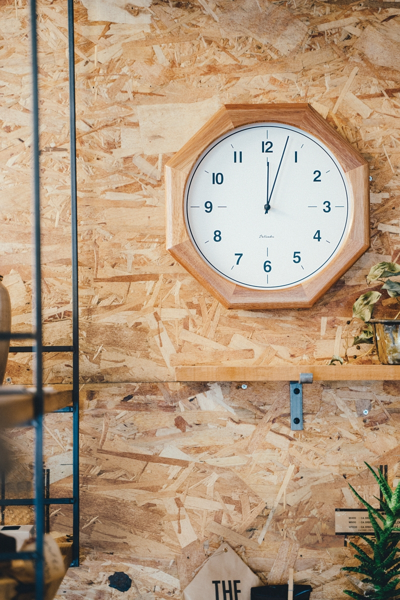 【お買い物マラソン!ポイントアップ10倍!2019/11/19 20:00~2019/11/26 01:59】WALL CLOCK Srokowo スロコヴォ 電波時計