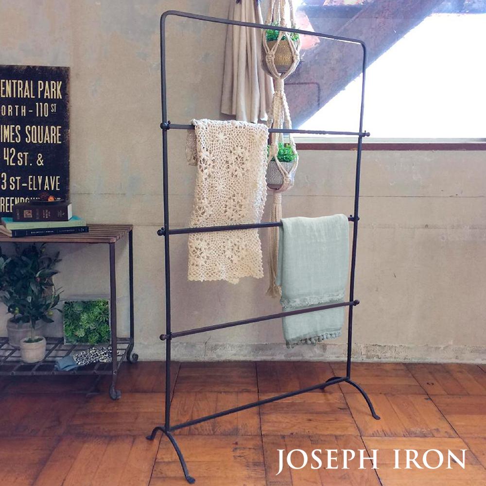 【送料無料】ジョセフアイアン ラダーラック ■73×31×120cm シンプル 収納【SPICE スパイス】【TOKYO DESIGN CHANNEL】
