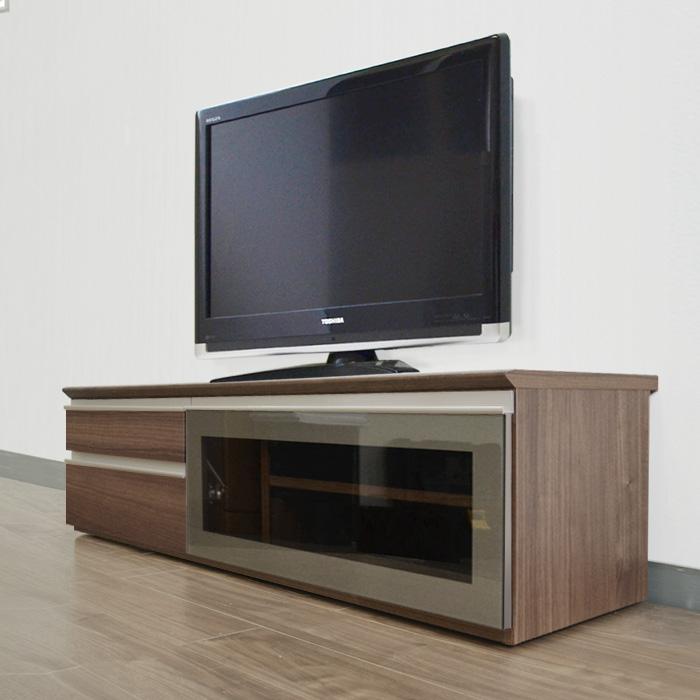 テレビ台 テレビボード ルッカ 140cm幅 ウォールナット ナチュラル