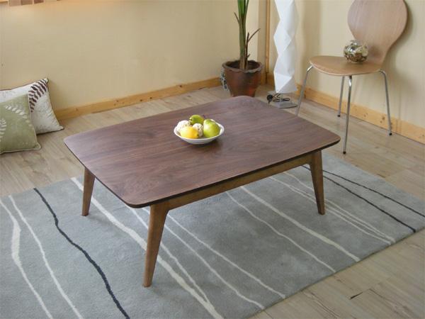 こたつテーブル 105cm幅 ウォールナット