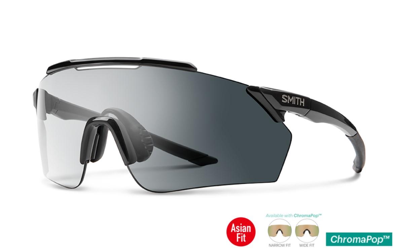 SMITH (スミス) PivLock Ruckus Black Sunglasses ピブロック ルカース ブラック サングラス