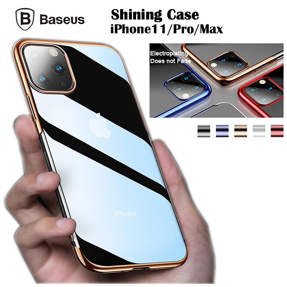 送料無料 Baseus Shining Case 全国どこでも送料無料 シャイニングケース iPhone12 mini Pro Maxケース アイフォン11 11Pro Baseus正規品 アイフォン11ケース アイフォン11プロケース ProMax 透明PC+柔らかなTPU 人気商品 衝撃吸収ケース iPhone1 スリムフィット Max iPhone11 11ProMaxケース