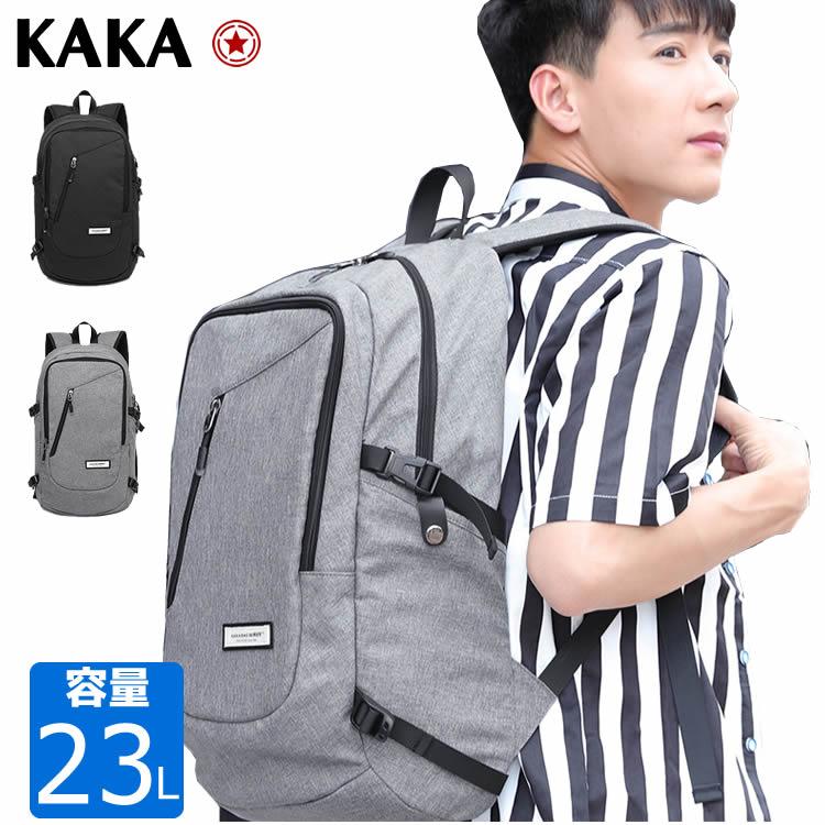 バックパック ビジネスバッグ KAKAリュックサック 超軽量 撥水バックパックビジネスバッグ 多機能 通勤 通学 バックパック アウトドア 通気性 バッグ 多機能デイバック レディースバッグ メンズバッグ KAKA KA-2211